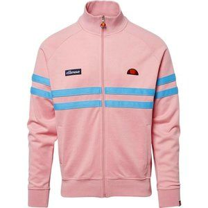 Ellesse Rimini Full Zip Track Jacket Light Pink